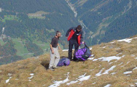 Paragliding Start