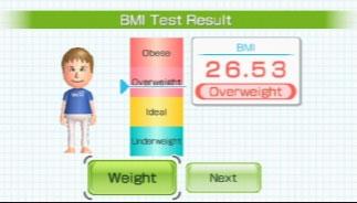Wii Fitness Test
