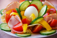 Gesunder Salat