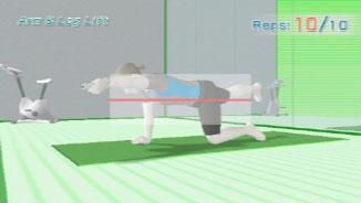 Wii Fit Muskelübungen