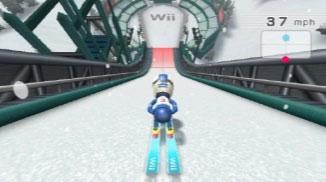 Wii Fit Skispringen