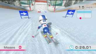 Wii Fit Slalom